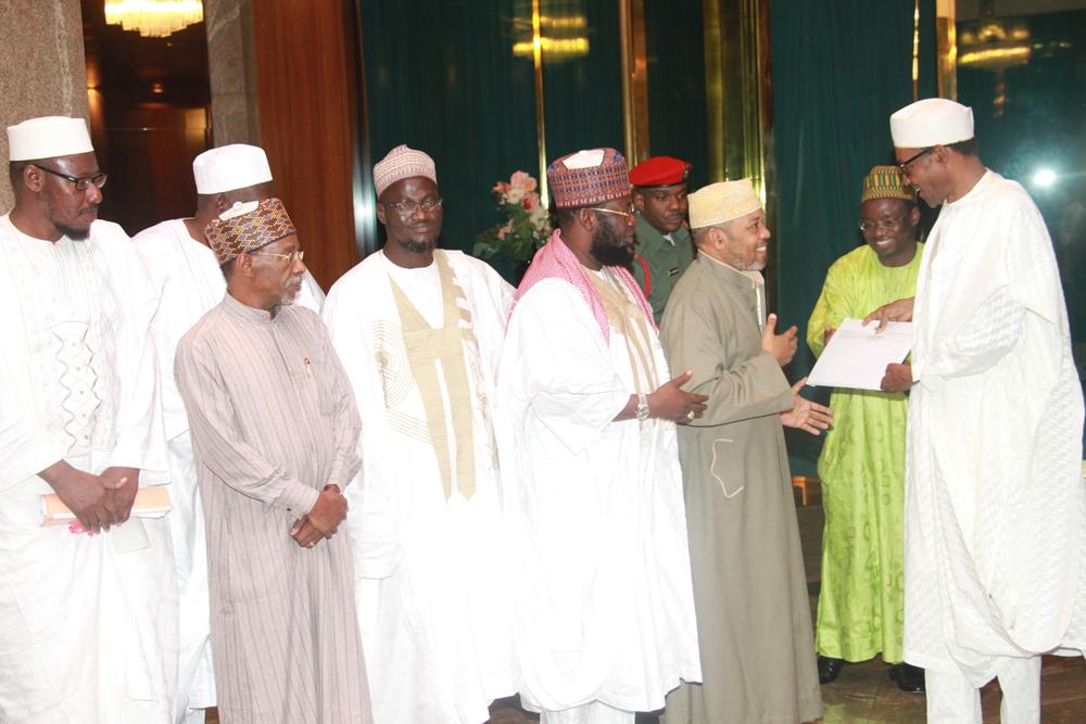 زيارة وفد الاتحاد لرئيس نيجيريا بخاري