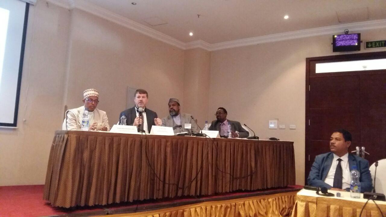 أعضاء اتحاد علماء إفريقيا في مؤتمر التطعيم بأديس أبابا